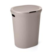 TATAY LAUNDRY BASKET TAUPE 40LTR