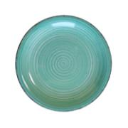 LIFESTYLE DINNER PLATE 27CM TURQUOISE