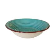 LIFESTYLE SOUP PLATE 21CM TURQUOISE