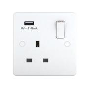 SINGLE SOCKET USB 2.1AMP