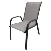 NADIA SLING CHAIR LIGHT GREY