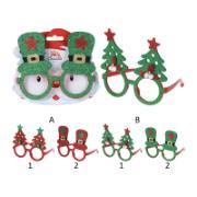 GLASSES FRAME XMAS DESIGN