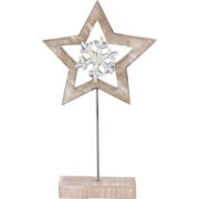 STAR WITH STAND 33CM
