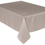 ANTI-STAIN TABLECLOTH 140X240CM BEIGE