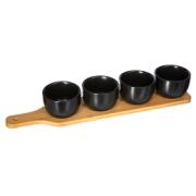 APERITIVE SET 5PCS BLACK