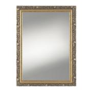 VERDE MODEL -GOLD COL.FRAME MIRROR WOOD  W55XH75CM