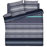 QUILT COVER SET 220X240 R.BLUE