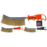 STEEL WIRE BRUSH 24CM 2ASS CLR