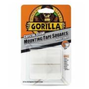 GORILLA MOUNTING TAPE SQUARE 24PCS CLEAR