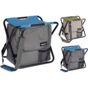 FOLDING CHAIR WITH COOLER BAG