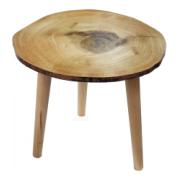 WOODEN SIDE TABLE 36X36X36CM