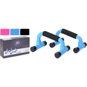 PUSH UP BAR 2PCS PP 3ASSORTED COLORS