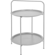 TABLE ROUND 50CM LIGHT GREY COLOR