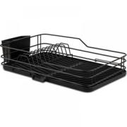 NAVA MISTY DISH DRYER 43X30CM BLACK