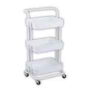 ESTIA TROLLEY METAL WHITE