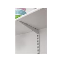 ELEMENT TWIN SLOT BRACKET 37CM WHITE