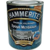 HAMMERITE HAMMERED GREY 750ML