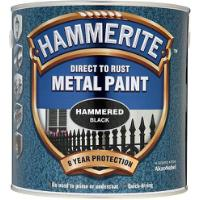 HAMMERITE HAMMERED BLACK 2.5Ltr