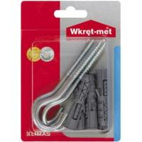 WRET-MET 7pcs  ROWBLUX WITH C HOOK 8x40mm