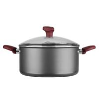 CASSEROLE 26CM, 6L, NON-STICK, WITH GLASS LID, MAGIC