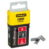 STANLEY STAPLES 8MM 1000PC