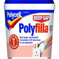 Polycell DEEP GAP POLYFILLA TUB 1L