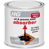 HG OIL & GREASE STAIN ABSORBER 250ML