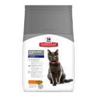 HILLS SCIENCE PLAN MATURE ADULT 7 + DRY STERILISED CAT FOOD CHICKEN 300GR