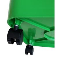 BIDONE BIN GREEN 60L WITH WHEELS