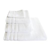 BATH TOWEL WHITE FLUFFY 85X150 500