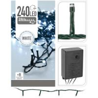 XMAS LED LIGHTS 240 WHITE BS P