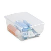 STORAGE BOX ONE 10L TRANSP