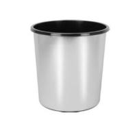 CHROME OFFICE BIN 11LTR