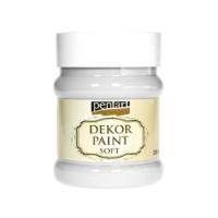 PENTART DEKOR PAINT SOFT 230ML WHITE