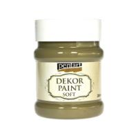 PENTART DEKOR PAINT SOFT 230ML OLIVE