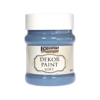 PENTART DEKOR PAINT SOFT 230ML DENIM