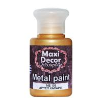 MAXI DÉCOR ACRYLIC METALLIC CODE 103 60ML