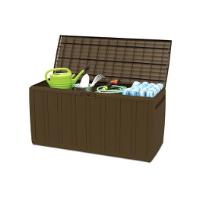 RAM CUSHION BOX 45.5X117X57.5CM/270L BROWN