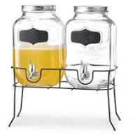 JAR WITH TAP SET OF 2PCS