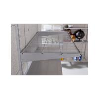 WIRE SHELF 180X400 SILVER