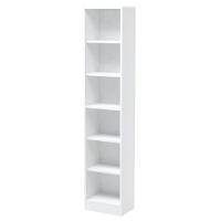 HEAVEN TALL BOOKCASE 41CM WHITE