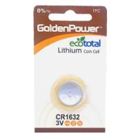 GOLDEN POWER 3V LITHIUM BUTTON CR1632