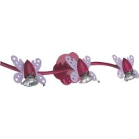 SUPERLIGHTS 'LITTLE BUTTERFLIES' CHILDREN'S CEILING LIGHT 3xGU10
