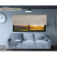 ROLLER BLIND BLACKOUT GRAY REPUSSE 110X160CM