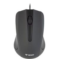 YENKEE WIRED MOUSE SUVA BLACK