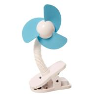 STROLLER SOFT FAN WHITE/BLUE