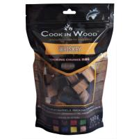 COOK IN WOOD 500GR SMOKING CHUNKS WHISKEY