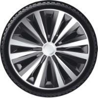 J-TECH WHEEL COVERS SILV/BL14