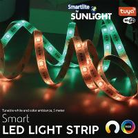 SUNLIGHT LED 4.8W/M WIFI SMART STRIP 5-METER SET RGB WITH CONTROLLER & ADAPTOR IP65