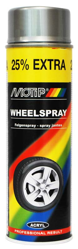 MOTIP SPRAY GLOSS WHITE 500ML